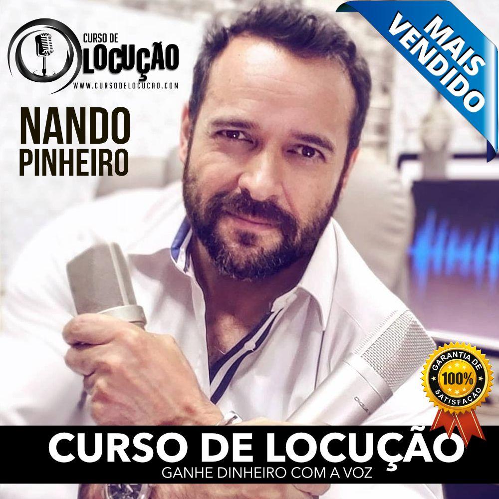 curso de locução com Nando Pinheiros
